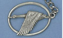 Canadian Goose Keychain Lead Free Pewter