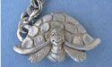 Turtle Keychain Lead Free Pewter