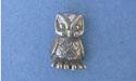 Owl Lapel Pin Lead Free Pewter