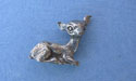 Fawn Lapel Pin Lead Free Pewter