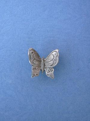Butterfly Lapel Pin - Lead Free Pewter