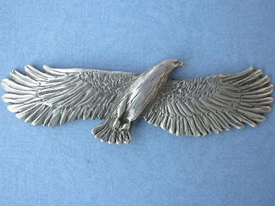 Eagle Brooch Lead Free Pewter