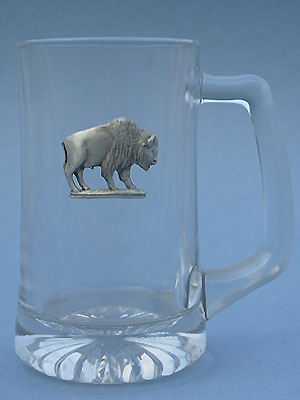 Buffalo Beer Mug - Lead Free Pewter