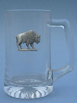 Buffalo Beer Mug - Lead Free Pewter