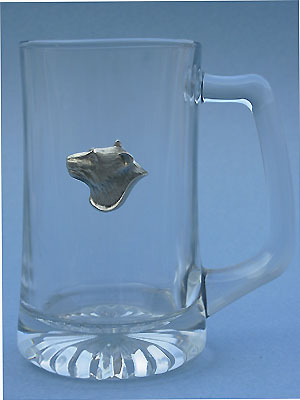 Bear Beer Mug Lead Free Pewter