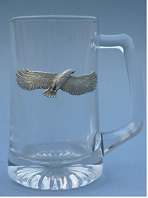 Soaring Eagle Beer Mug Lead Free Pewter