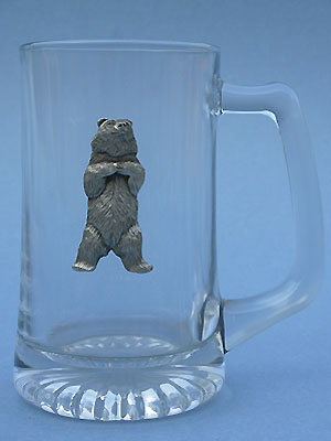 Kodiak Beer Mug Lead Free Pewter