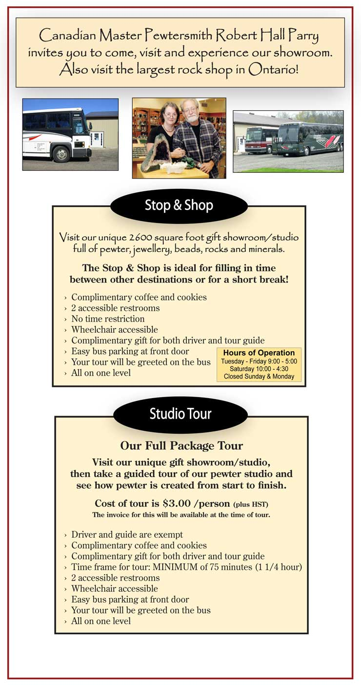 Motor Coach Tour Options