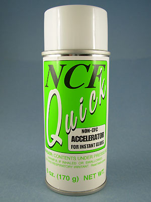 NCF Quick Accelerator for Instant Glues - 6oz.