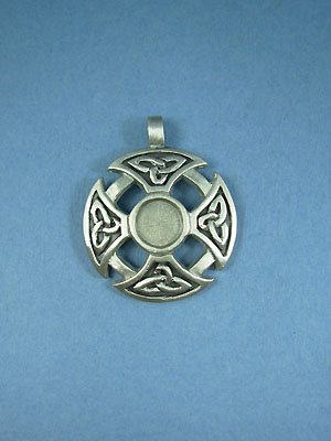 Celtic Pewter Setting - Lead Free Pewter