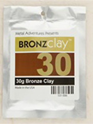 BRONZclay 30g Package