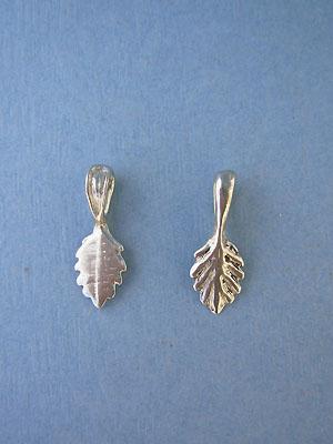 Leaf Beavertail - Pk of 3 - Lead Free Pewter