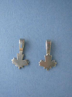 Maple Leaf Bevertail - Pk of 3 - Lead Free Pewter