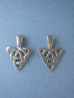 Celtic Charm Beavertails - Pk of 3 - Lead Free Pewter