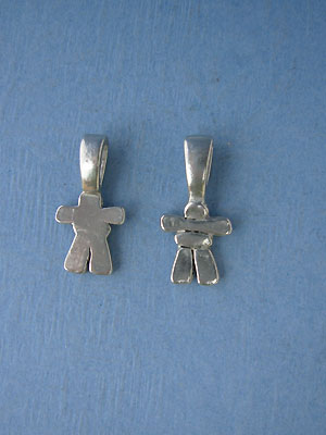 Inukshuk Beavertail - Pk of 3 - Lead Free Pewter