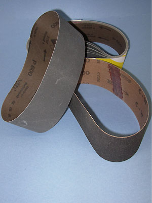 "400 grit sanding belt for 8"" x 25-7/32"" drum"