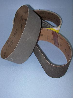 "400 grit sanding belt for 8"" x 25-7/32"" drum"