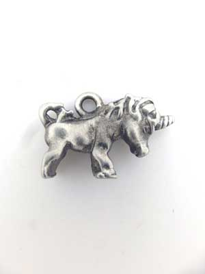 Little Unicorn Charm - Lead Free Pewter