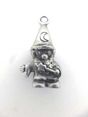Wizard Charm - Lead Free Pewter