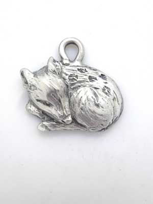 Fawn Charm - Lead Free Pewter