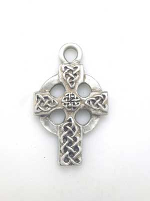 Celtic Cross Charm - Lead Free Pewter