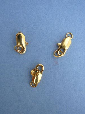 Lobster Claw Clasps - Gold Plated