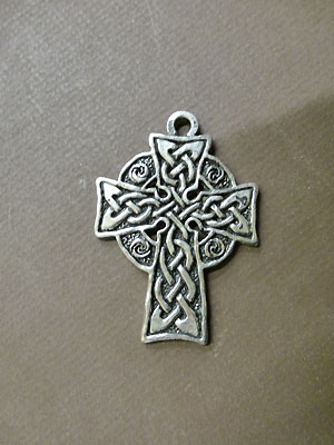 Large Meditation Cross - Lead Free Pewter