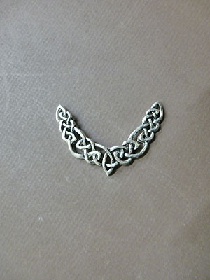 Endless Interlace - Lead Free Pewter