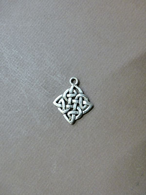 The Knot of Transformation - Lead Free Pewter