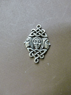 Brighid - The Triple Goddess - Lead Free Pewter
