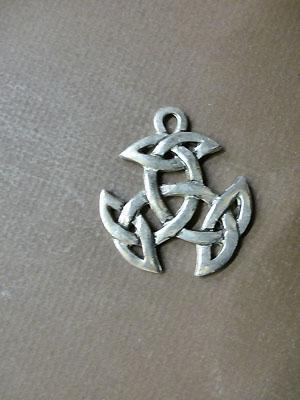 Breton Celtic Knot - Lead Free Pewter