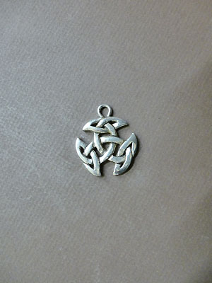 Breton Celtic Knot - Lead Free Pewter