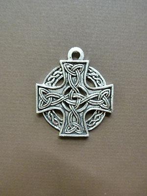 Celtic Knotwork Cross - Lead Free Pewter