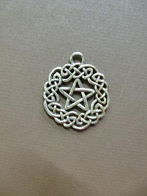 Small Celtic Pentagram - Lead Free Pewter