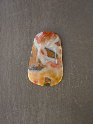 Flint - Flint Ridge, Ohio Designer Cabochon - 37mmx23mm