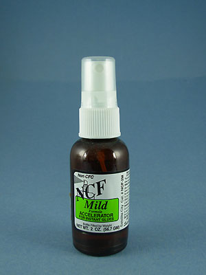NCF Mild Accelerator for Instant Glue- 2oz.
