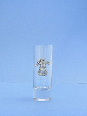 Meow Cat Shooter Glass - Lead Free Pewter