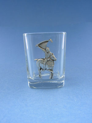 Polo Shot Glass - Lead Free Pewter