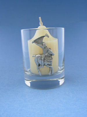Polo One Piece Votive Holder - Lead Free Pewter