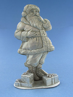 Large Santa Figurine - Lead Free Pewter