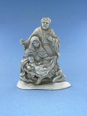 Mary and Joseph Figurine - Lead Free Pewter