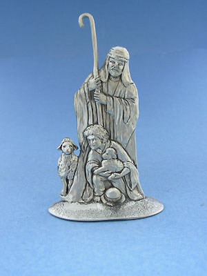 Shepherd Figurine - Lead Free Pewter