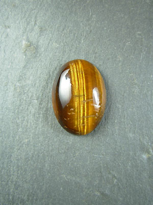 18x25mm Tiger Eye Calibrated Cahochon