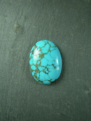 18x25mm Turquoise Oval Cabochon
