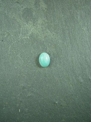 6x8mm Amazonite Round Cabochon