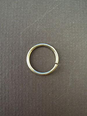10.5mm (ID) 16ga Argentium Sterling Silver Jump Rings