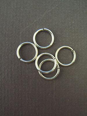9.0mm (ID) 16ga - Argentium Sterling Silver Wire