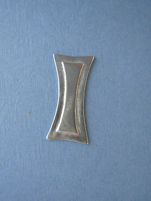 Solid Bar Foldover - Lead Free Pewter