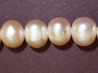 "8mm Potato Dyed Freshwater Pearl -16"" Strand"