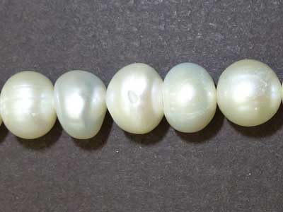 "8mm Potato Freshwater Pearl - 16"" Strand"